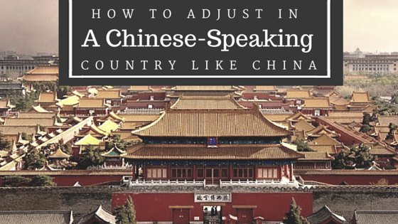 chinese speaking country